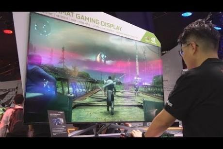 شاشة للإلعاب بمقاس 65 أنش!