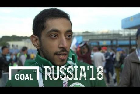 World Cup Fan Reactions: Day 1 - Russia vs Saudi Arabia