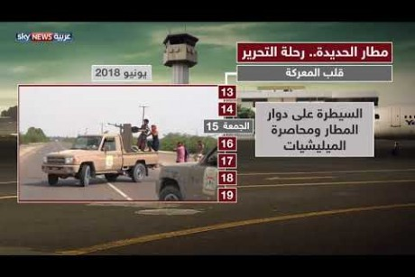 مطار الحديدة... رحلة التحرير