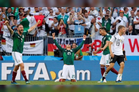 Wonderful Mexico rise to the occasion to beat defending champions Germany