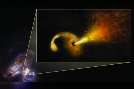 Astronomers spot supermassive blackhole destroying a star
