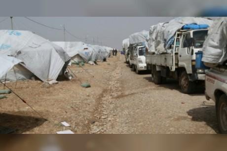 جهاديون قتلوا ثلاثة من سائقي الشاحنات على طريق بغداد كركوك