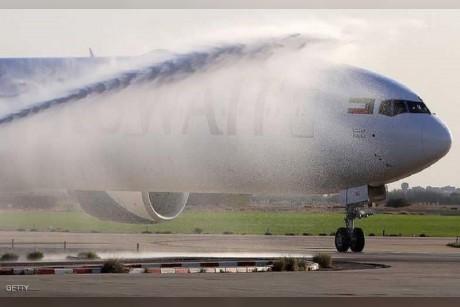 هبوط طائرة كويتية بسلام بعد اصابتها بخلل فني