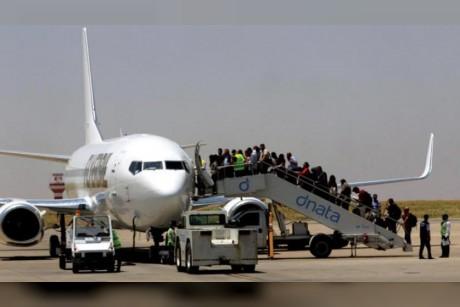 هبوط أول طائرة تابعة لشركة كردية ـ عراقية في أربيل