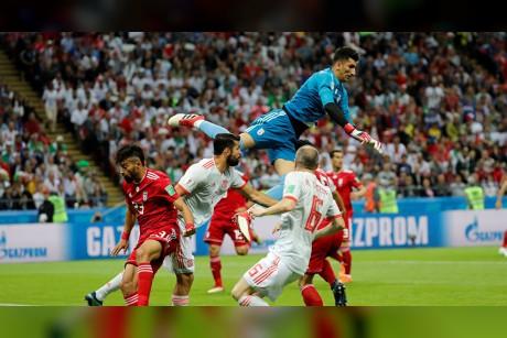 بالفيديو... أهداف مباراة إسبانيا وإيران في كأس العالم