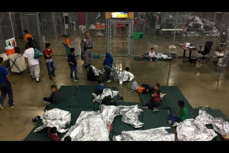 Inside look at Border Patrol facility in McAllen, Texas