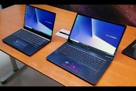 نظرة على حاسب المحمول ASUS ZenBook Pro: معالج Core i9 و شاشة إضافية!