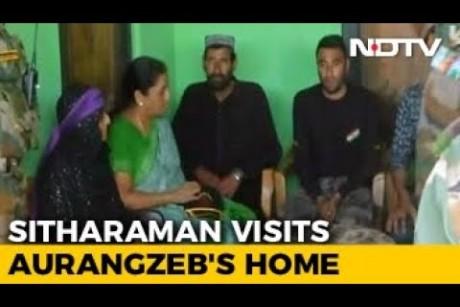 Killed Soldier Aurangzebs Family Inspiration, Says Nirmala Sitharaman