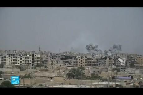 التحالف الدولي متهم بقتل مدنيين في الرقة