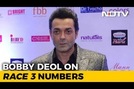 Bobby Deol On The Box-Office Collections & Criticism Of Race 3