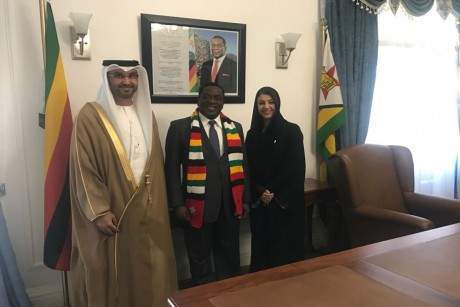 UAE, Zimbabwe sign cooperation agreements.
