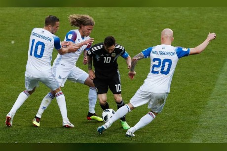 99.6% من الشعب الأيسلندي شاهد مباراة منتخبهم أمام الأرجنتين
