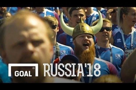 Iceland fans: one heart beats together