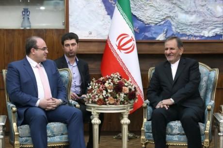 نائب روحاني: إيران ستقف إلى جانب سوريا في مرحلة إعادة الإعمار