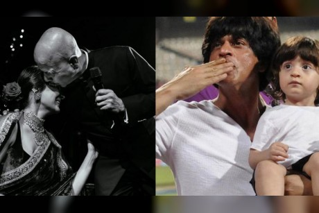 Shah Rukh Khan, Anushka Sharma and other Bollywood stars celebrate Fathers Day