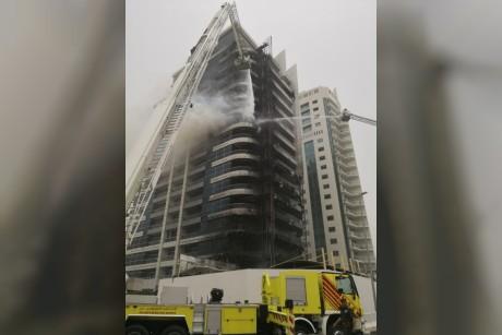خلل في التوصيلات الكهربائية تسبّب في حريق «ذا زين»