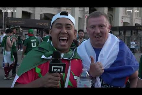 World Cup 2018: Mexico fans longest trip to Russia