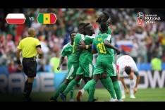 Senegal Goal 1 v Poland - MATCH 15