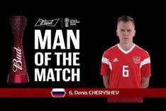Denis CHERYSHEV - Man of the Match - MATCH 17