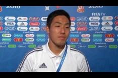 Gen SHOJI (Japan)  - Post Match Interview - MATCH 16