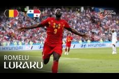 Romelu LUKAKU Goal 3 - Belgium v Panama - MATCH 13