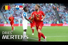 Dries MERTENS Goal - Belgium v Panama - MATCH 13