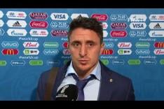 Cristian RODRIGUEZ (Uruguay) - Post Match Interview - MATCH 18