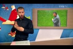 FIFA WC 2018 - URU vs. KSA – for Deaf and Hard of Hearing - International Sign