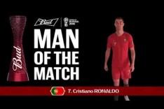 Cristiano RONALDO (Portugal) - Man of the Match - MATCH 19