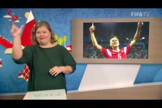 FIFA WC 2018 - RUS vs. EGY – for Deaf and Hard of Hearing - International Sign