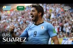 Luis SUAREZ Goal - Uruguay v Saudi Arabia - MATCH 18