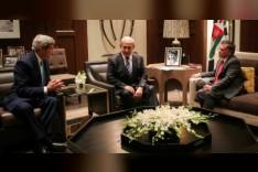 نتانياهو التقى العاهل الاردني عبدالله الثاني في الاردن (الديوان الملكي)