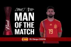 Diego COSTA (Spain) - Man of the Match - MATCH 20