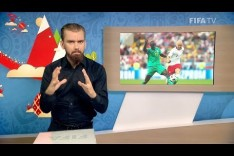 FIFA WC 2018 - POL vs. SEN – for Deaf and Hard of Hearing - International Sign