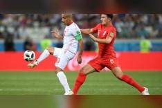 مباراة تونس ضد إنجلترا .. أبناء الملكة إليزابيث يخطفون النصر الثمين من نسور قرطاج
