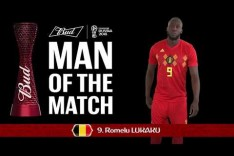 Romelu LUKAKU (Belgium) - Man of the Match - MATCH 13