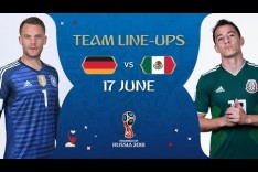 LINEUPS – GERMANY v MEXICO - MATCH 11 @ 2018 FIFA World Cup™
