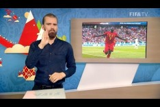 FIFA WC 2018 - BEL vs. PAN – for Deaf and Hard of Hearing - International Sign
