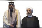 تميم يتبادل الغزل السياسي مع روحاني ويعلن دعم إيران في اليمن