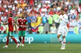 هدف رونالدو يقود البرتغال للفوز 1-صفر على المغرب