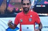 الحوسني يتأهل إلى كأس العالم للترايثلون