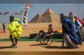 سكاي دايف مصر تنظم أول فعالية دولية للقفز بالمظلات فوق أهرامات الجيزة