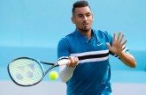 Nick Krygios continues Wimbledon prep with erratic victory over Andy Murray