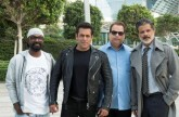 Take a further look behind the scenes of Race 3shoot in Abu Dhabi