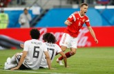Russia World Cup 2018World Cup: Russia defeats Egypt 3-1 as hosts continue to defy critics, Mohamed Salah faces early exit