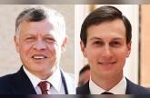 White House Mideast team holds talks with Jordanian king