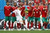 رونالدو.. كبير هدافي أوروبا بعد هز شباك المغرب
