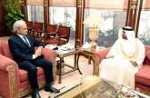 Pakistani caretaker Prime Minister meets UAE Ambassador
