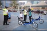 الهوائية الأمنية بشرطة أبو ظبي.. خدمات إنسانية تجسد  الإيجابية والسعادة