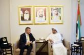 UAE Ambassador meets UN Resident and Humanitarian Coordinator in Lebanon